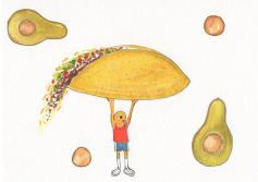 Taco Avocado