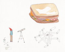 Sandwich Gazing