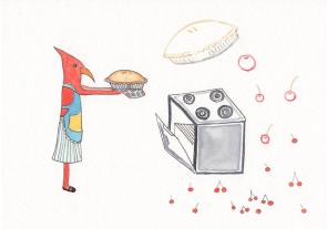 Captain Cardinal's Cherry Pie