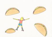 Taco Skate Party